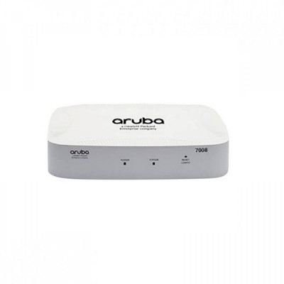Aruba 7008 (RW) 8p 100W PoE+ 10/100/1000BASE-T 16 AP and 1K Client Controller