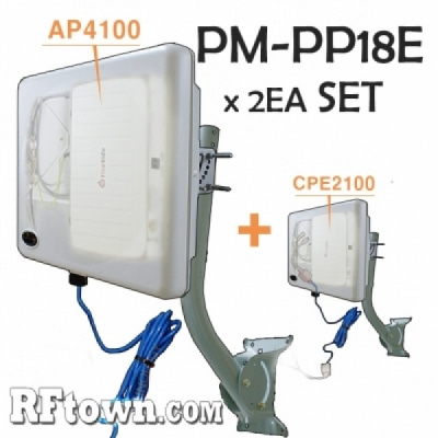 PM-PP18E ,4100,2100 무선랜 브릿지 함체 x 2ea SET상품