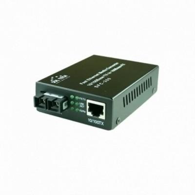 [SOLTECH] 솔텍 SFC200-SCS 10/100Mbps 싱글모드 2Core SC 광컨버터