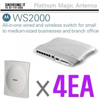 MOTOROLA WS2000(Used) + AP300(802.11abg) 4EA 포함 SET