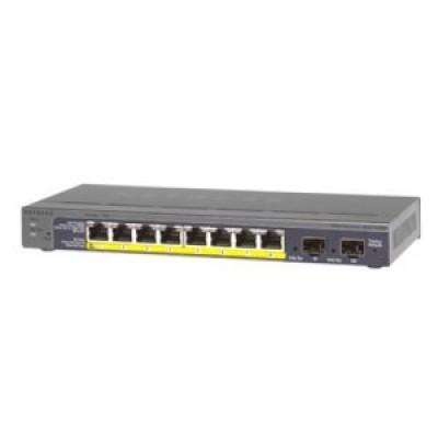 [Netgear] 넷기어 GS110TP 8 포트 기가 PoE  스위치 허브