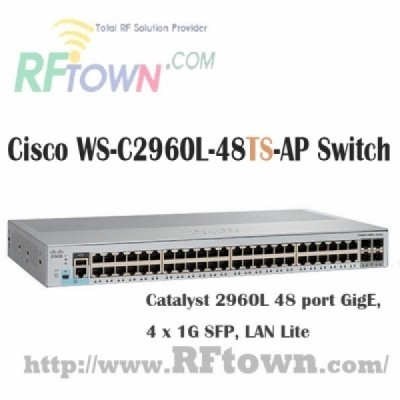 [Cisco] 시스코 WS-C2960L-48TS-AP / 48 port GigE, 4 x 1G SFP, LAN Lite
