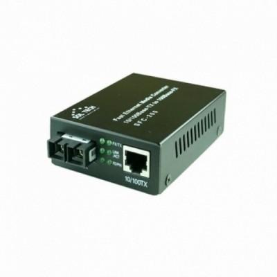 [SOLTECH] 솔텍 SFC200-SCM  10M/100Mbps 멀티모드 2Core SC 광컨버터