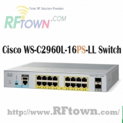 [Cisco] 시스코 WS-C2960L-16PS-LL  / 16 port GigE with PoE, 2 x 1G SFP, LAN Lite