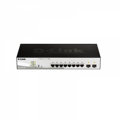 [D-Link] 디링크 DGS-1210-10P PoE(78W) 스마트 스위치 허브