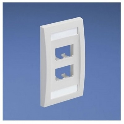 [PANDUIT] CFPE4IWY Panduit FacePlate 4 Module Space 4구 플레이트