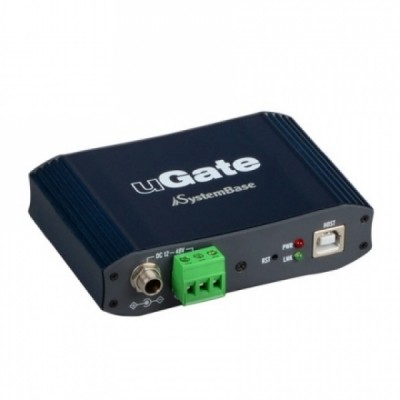 [SYSTEMBASE] 시스템베이스 uGate-401F 산업용 4포트 USB 허브