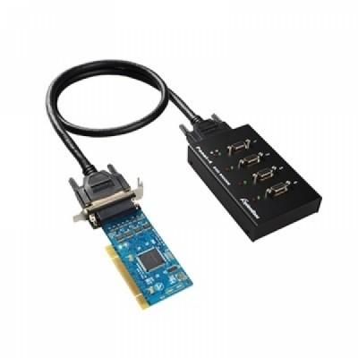 [SYSTEMBASE] 시스템베이스 Multi-4/LPCI COMBO (카드 + 패널) 4포트 RS422/RS485 시리얼 통신 카드 [개별선택가능]