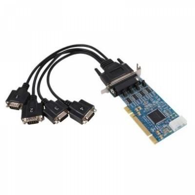 [SYSTEMBASE] 시스템베이스 Multi-4/LPCI 232 (케이블 포함) 케이블 4포트 RS232 시리얼 통신 카드