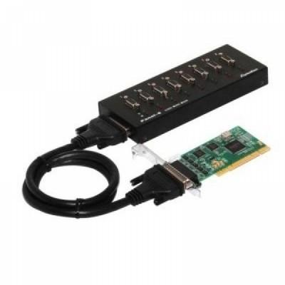 [SYSTEMBASE] 시스템베이스 Multi-8/LPCI 232 8포트 RS232 시리얼 통신 카드 (카드+패널) [개별선택가능]