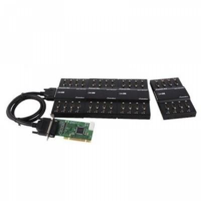 [SYSTEMBASE] 시스템베이스 Multi-32/LPCI COMBO (카드 1EA+패널 4EA) 32포트 RS422/RS485  시리얼 통신 카드 [개별구매가능]