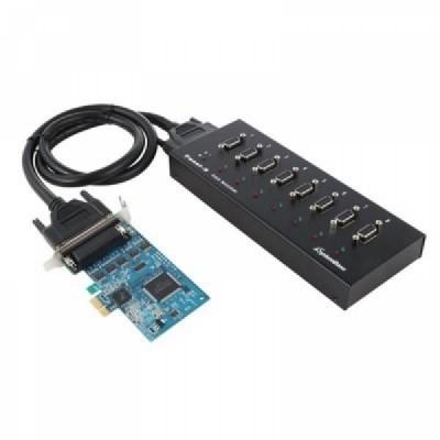 [SYSTEMBASE] 시스템베이스 Multi-8/LPCIe COMBO (카드+패널) 8포트 RS422/RS485 시리얼 통신 카드