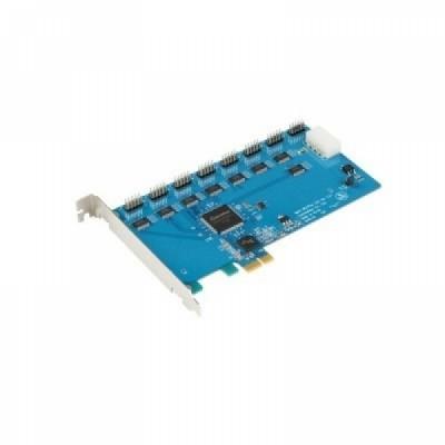 [SYSTEMBASE] 시스템베이스 Multi-8H/PCIe 232 핀타입 8포트  RS232 시리얼 통신 카드