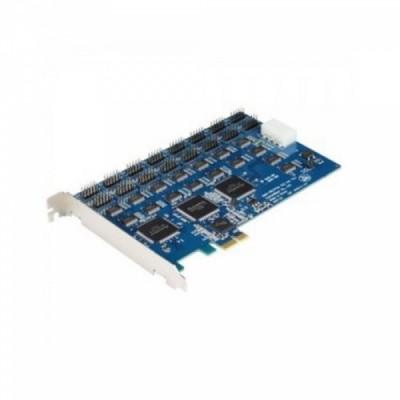 [SYSTEMBASE] 시스템베이스 Multi-16H/PCIe 232 핀타입 16포트  RS232 시리얼 통신 카드