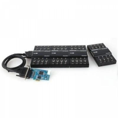 [SYSTEMBASE] 시스템베이스 Multi-32/LPCIe 232 32포트 RS232 시리얼 통신 카드