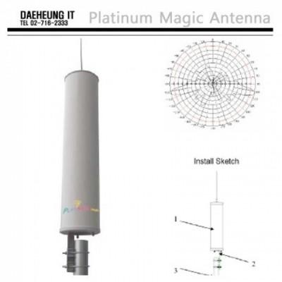 PM-OM09N3  9dBi MIMO / 2.4GHz 3포트 무지향 옴니 안테나