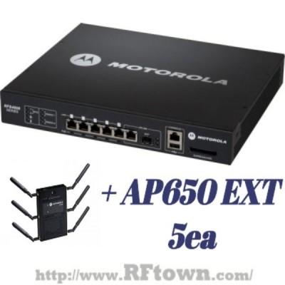 [특가]Motorola RFS4010 + AP300 4EA 포함 SET