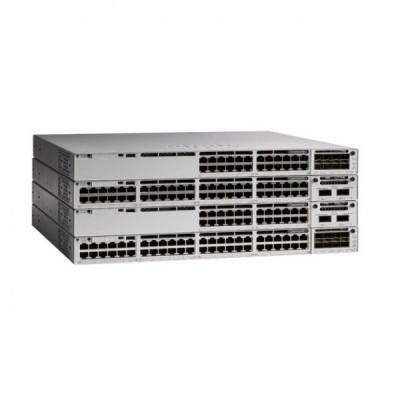 [Cisco] 시스코 Catalyst C9300-48P-A 48포트 데이터 PoE 스위치