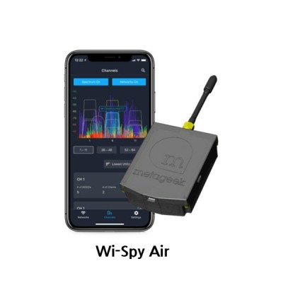 [MetaGeek Wi-Spy AIR] 모바일 무선스펙트럼 분석기