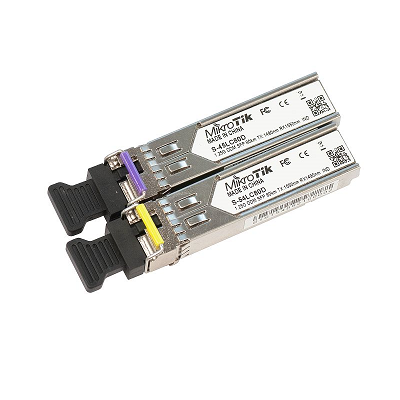[MikroTik] 마이크로틱 S-4554LC80D 1.25G SFP Single Mode 1Set (2ea) 산업용